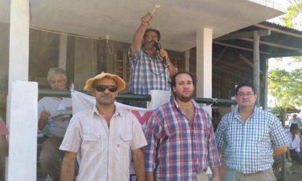Feria en Curtina, con buenos ganados