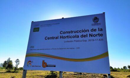 MGAP apoya construcción de Central Hortícola