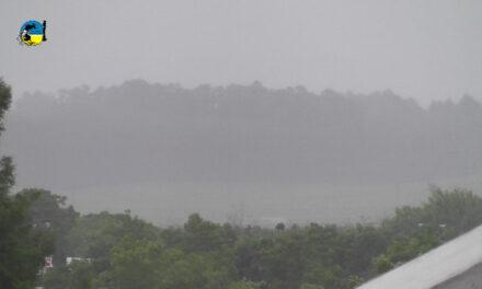 Lluvias caídas en Tacuarembó