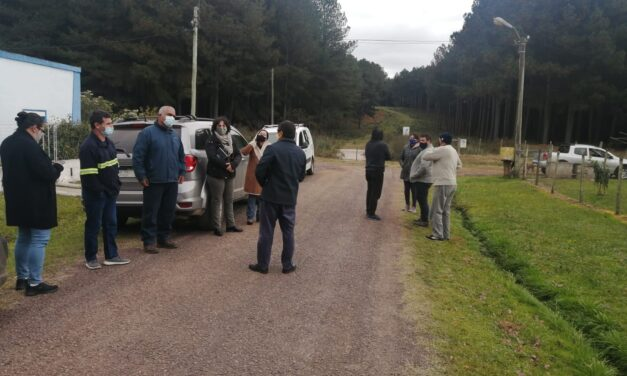 Ediles visitaron Poblado Lavalleja