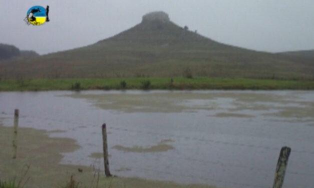 Lluvias en Tacuarembó y El País