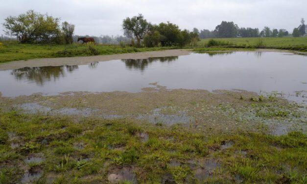 Precipitaciones en Tacuarembó y Uruguay